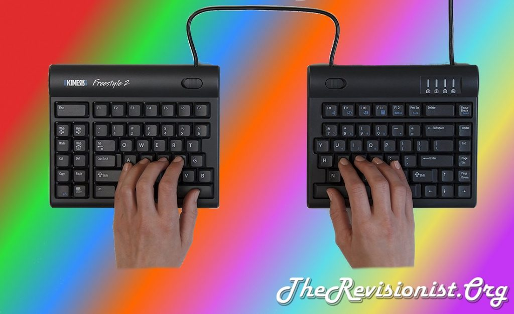 split keyboard kinesis freestyle 2