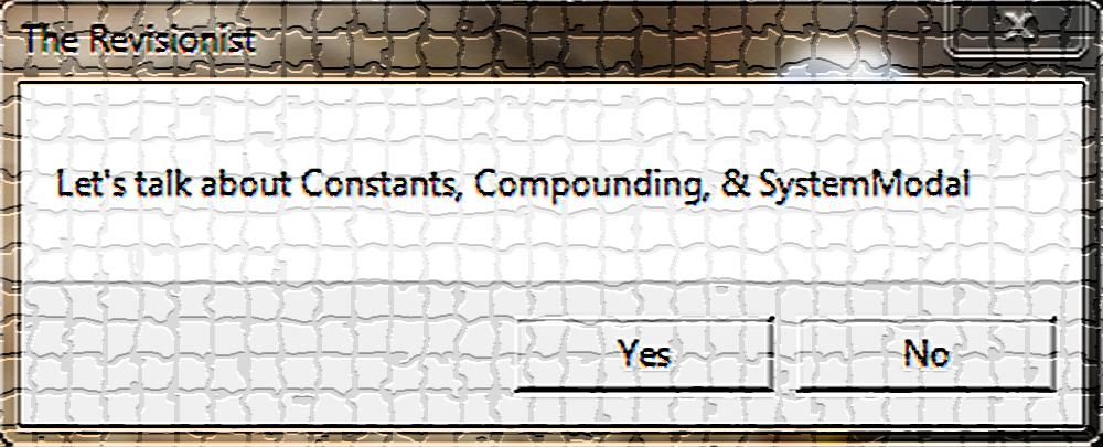 2. VbScript   Message Box: Constants