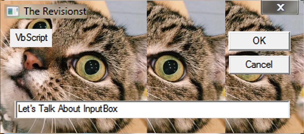 6. VbScript | Input Box
