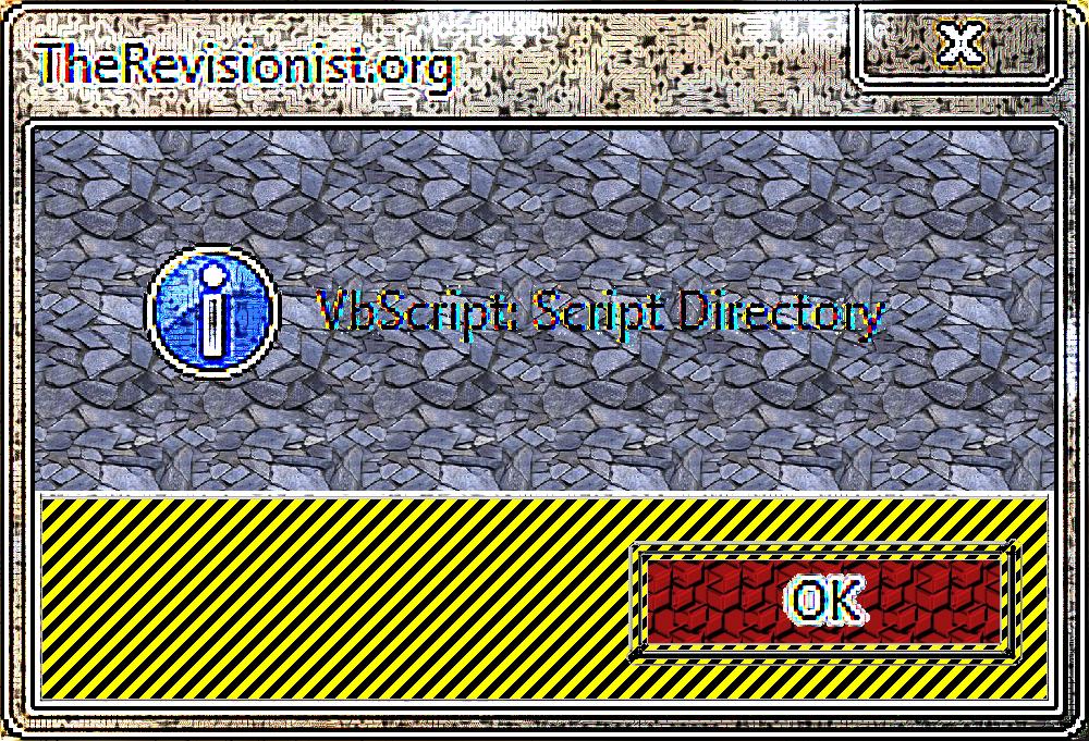 10. VbScript | Script Directory