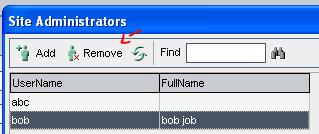 16_Downgrade Remove Site Admin to Site User Quality Center