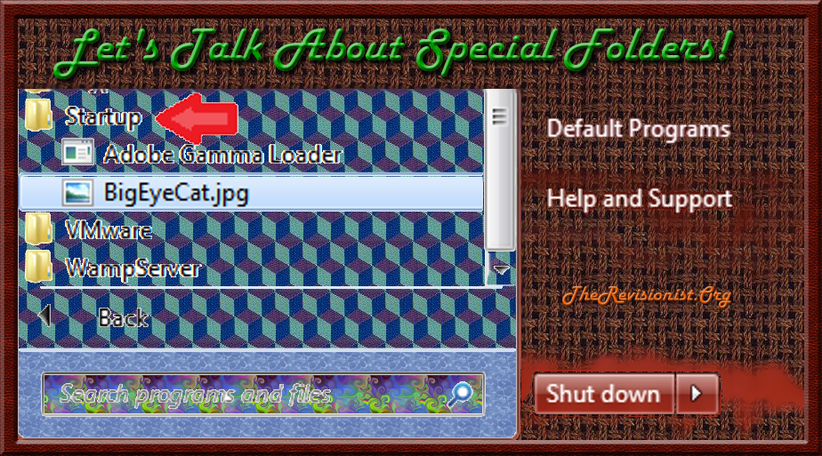 17. VbScript | Special Folders