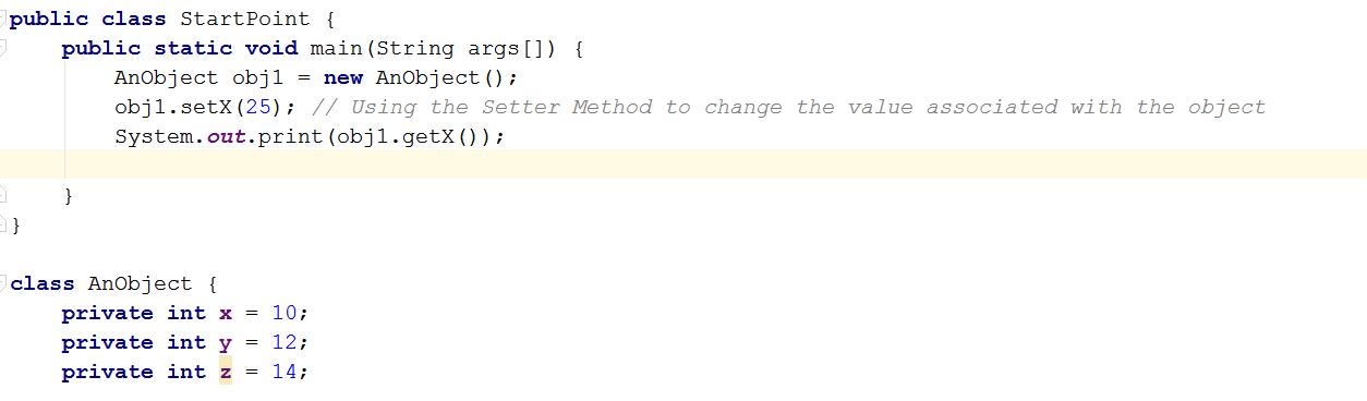 despite-private-java-modifier-you-can-use-setter-getter