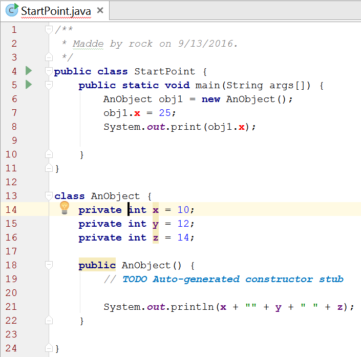 java-showing-field-cannot-be-accessed-if-private-setter-must-be-used