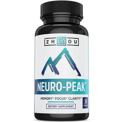 Zhou dietary supplement neuro peak memory focus clarity
