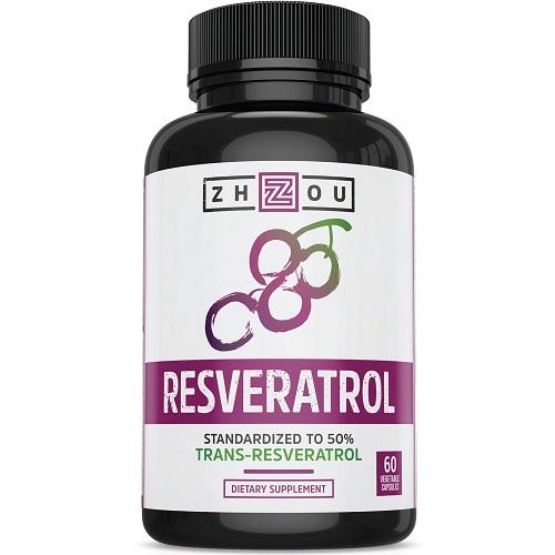 Zhou Resveratrol dietary supplement