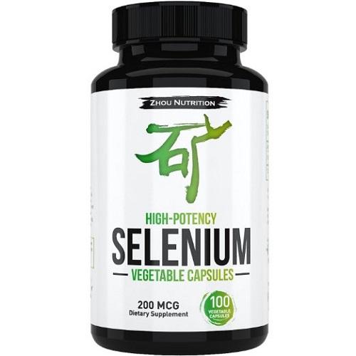 Zhou nutrition dietary supplement high potency selenium vegetable capsules