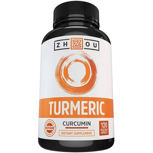 Zhou dietary supplement turmeric curcumin