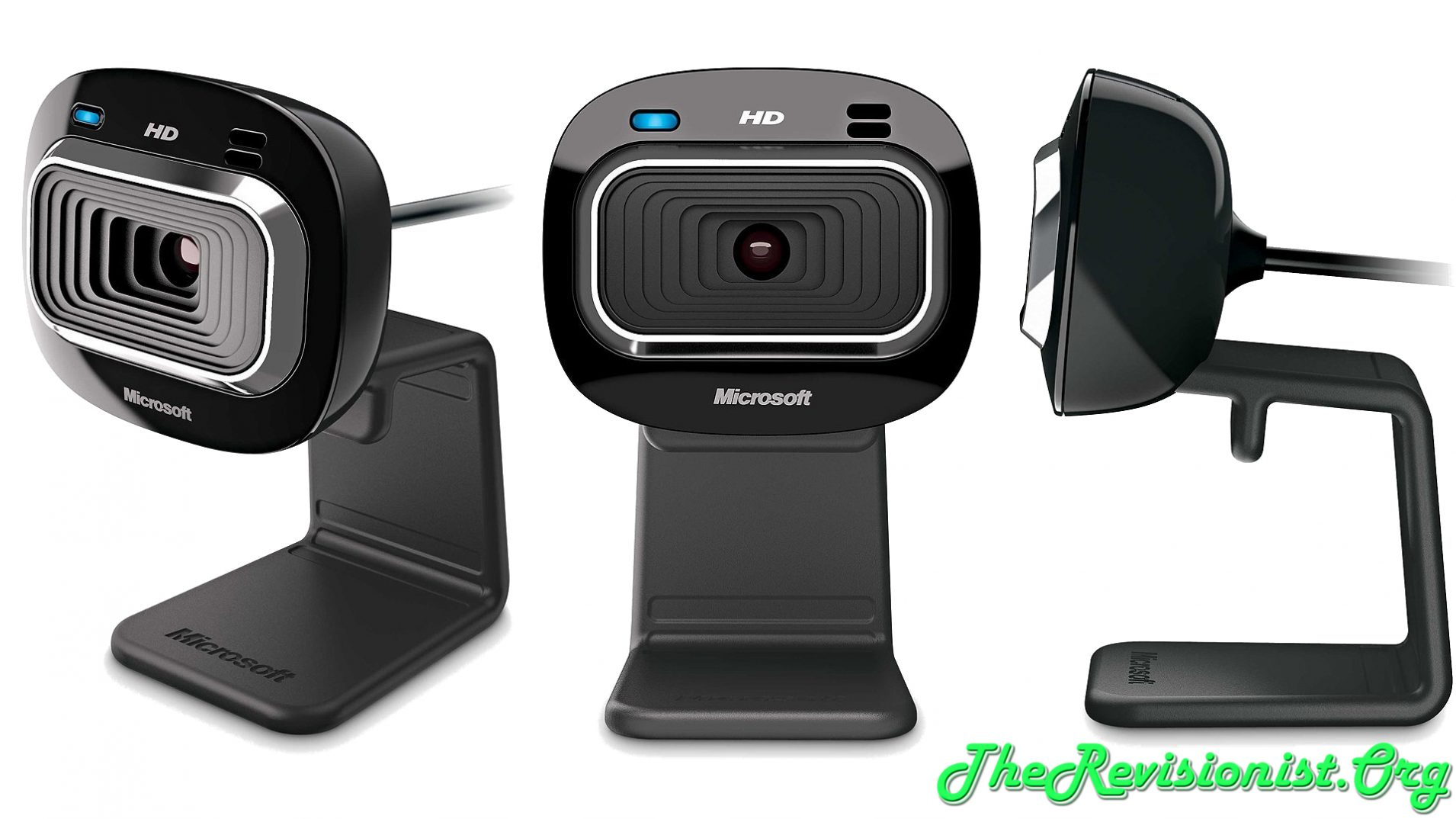 LifeCam HD-3000 front right side views