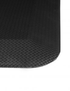 checker patterned close up anti fatigue mat