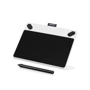 graphics drawing pen tablet white black profile by wacom
