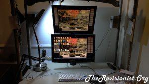 Workspace using V002R VIVO less tilt