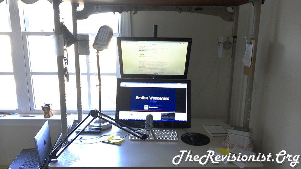 workspace using V002R VIVO