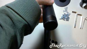 Screw threads of V002R VIVO Pipe Stand