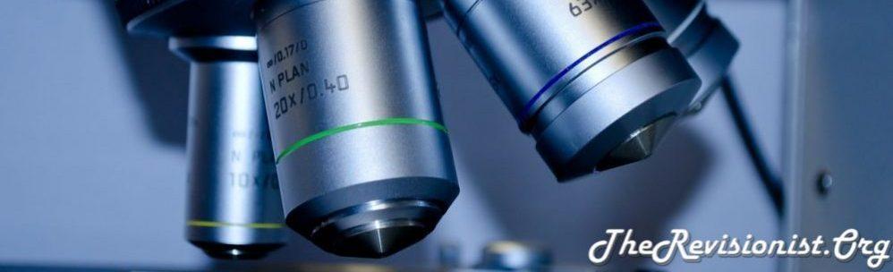 research lab scientific microscope lens close up