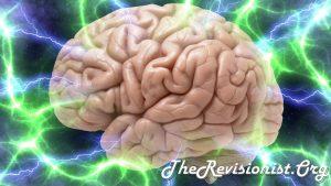 brain in lightning storm