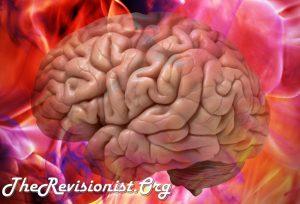 Artistic Interpretation of Brain on Free Radicals
